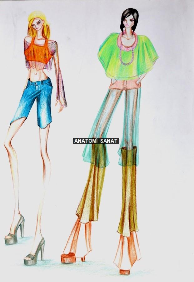 moda tasarım çalışmaları